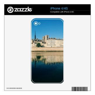 Paris Panorama - Ile Saint Louis Skin For iPhone 4