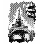 Paris Paris Eiffel Tower T-Shirt