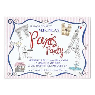 Paris Party Invitation