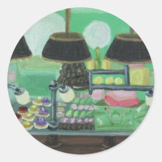 """""""Paris Patisseries"""" Classic Round Sticker"""