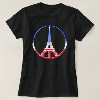 Paris Peace Eiffel Tower T-Shirt