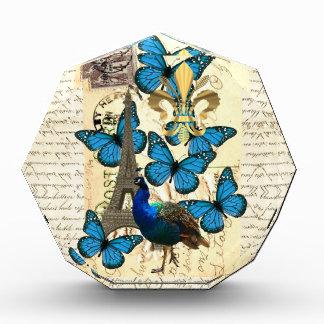 Paris, peacock and butterflies award