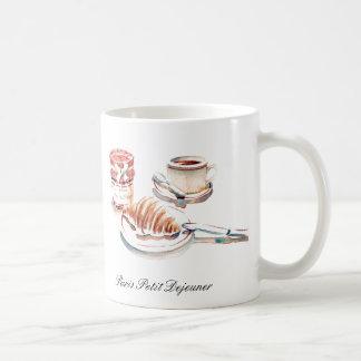 Paris Petit Degeuner Coffee Cup Mugs