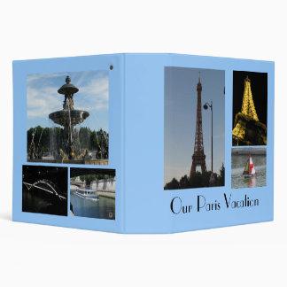 Paris Photo Album 3 Ring Binder