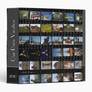 "Paris Photo Binder 1.5"" Personalize"