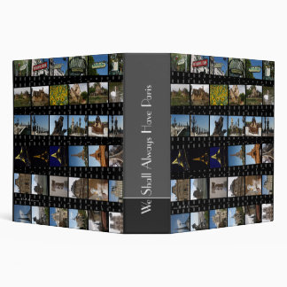 Paris Photo Binder 2""