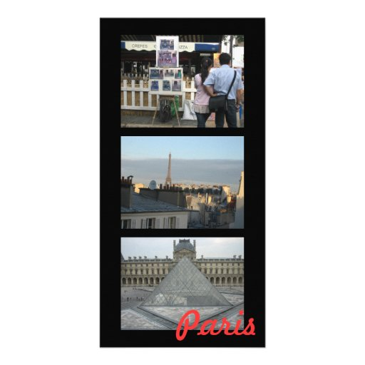 Paris Photo Card