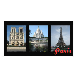Paris Photo Card Template