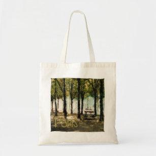 Paris Picnic Park on Avenue des Champs-Elysees Tote Bag 551d523db3f71