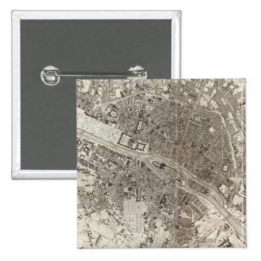 París Pin Cuadrada 5 Cm