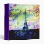 """París pintada colorida 1"""" álbum de foto"""
