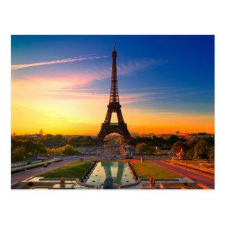 París pintoresca Francia Tarjeta Postal