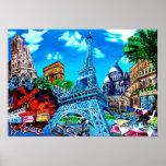 París pintura posters
