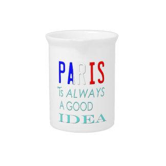 PARIS BEVERAGE PITCHERS