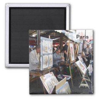 Paris - place of the Hillock-Montmartre - Magnet