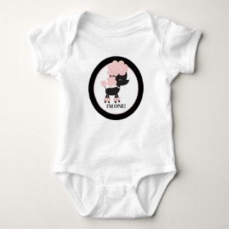 Paris Poodle Baby Shirt