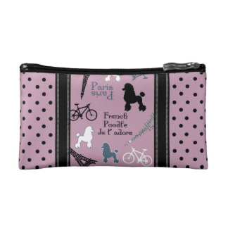 Paris Poodles Makeup Bag