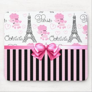 Paris Poodles Mouse Pad