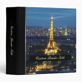 París por la carpeta de la noche