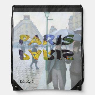 París por la mochila de Van Gogh y de Caillebotte