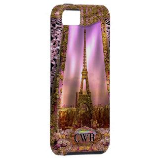 París por la tarde iPhone 5 funda