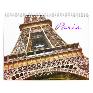 Paris Portfolio fine art calendar