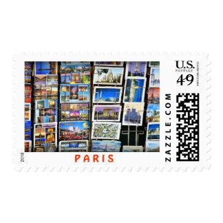 Paris* Postage Stamp