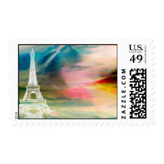Paris Postage Stamp, Eiffel Tower