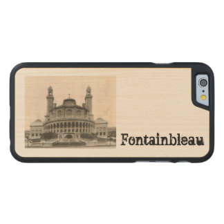 Paris Postcard from around 1905 The Tracadero Carved® Maple iPhone 6 Slim Case