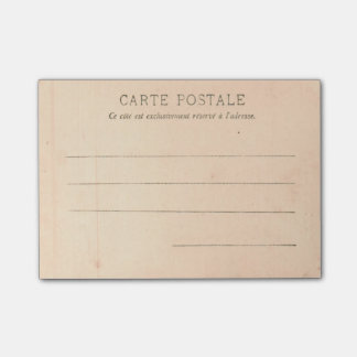 Paris Postcard from around 1905 The Tracadero Post-it® Notes