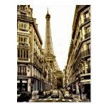 Paris Postcards - Eiffel Tower