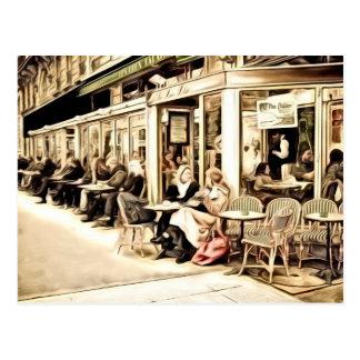 Paris Postcards - Street Scene