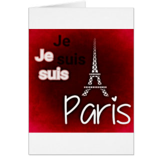 Paris posterq card