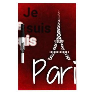 Paris posterq Dry-Erase board
