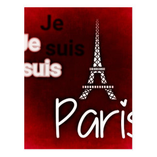Paris posterq postcard