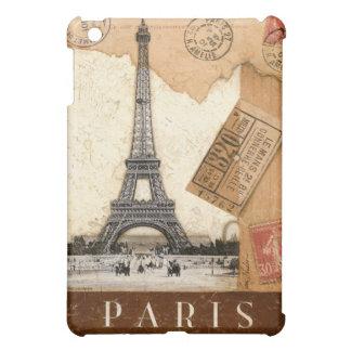 Paris Postmark Eiffel Tower iPad Mini Cases