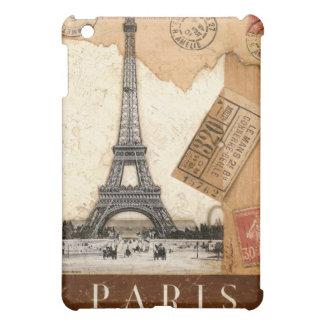 Paris Postmark Eiffel Tower iPad Mini Covers