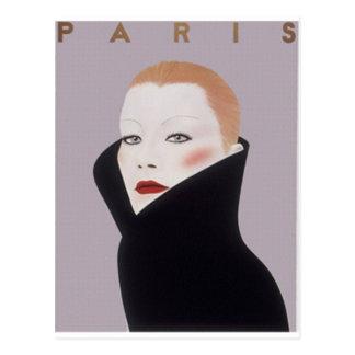 paris pret-a-porter postcard