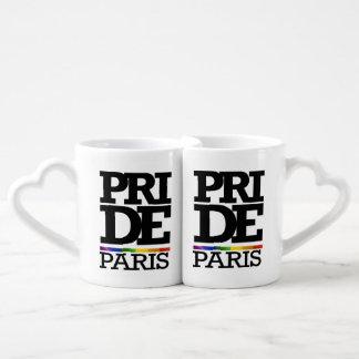 PARIS PRIDE -.png Couples' Coffee Mug Set