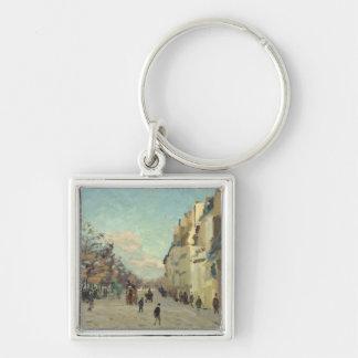 Paris, Quai de Bercy, Snow Effect, c.1873-74 Keychain