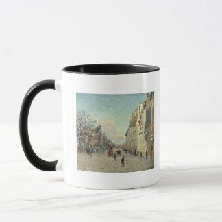 Paris, Quai de Bercy, Snow Effect, c.1873-74 Mug
