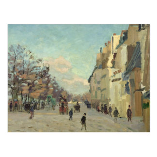 Paris, Quai de Bercy, Snow Effect, c.1873-74 Postcard