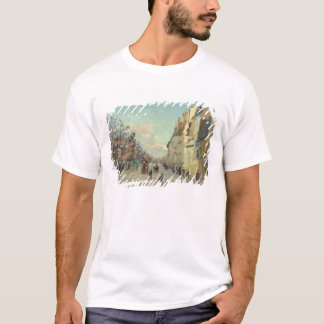 Paris, Quai de Bercy, Snow Effect, c.1873-74 T-Shirt