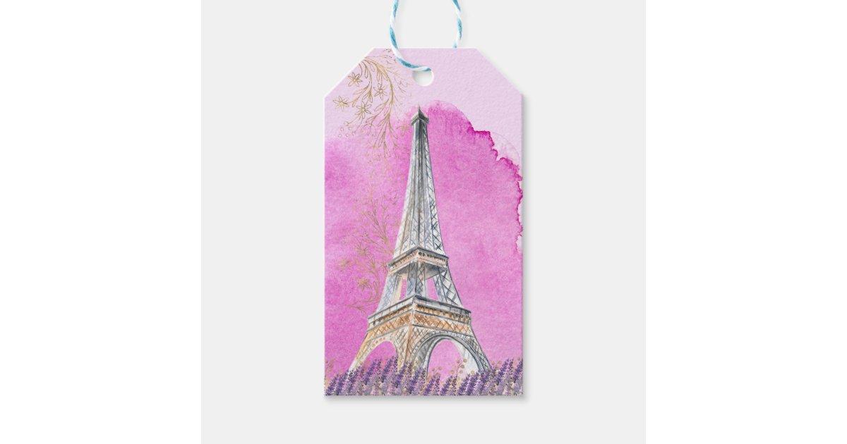 Paris Quinceanera Eiffel Tower Pink