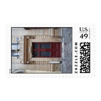 Paris Red Door Postage