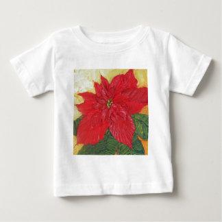Paris' Red Poinsettia Tshirt
