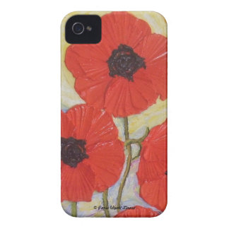 Paris' Red Poppies Blackberry Bold Case