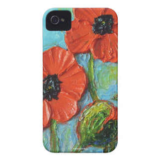 Paris' Red Poppies Blackberry Case