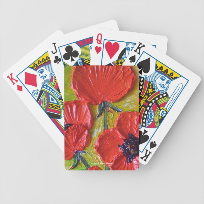 Paris' Red Poppies Cards