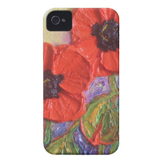 Paris' Red Poppies iPhone 4 Case